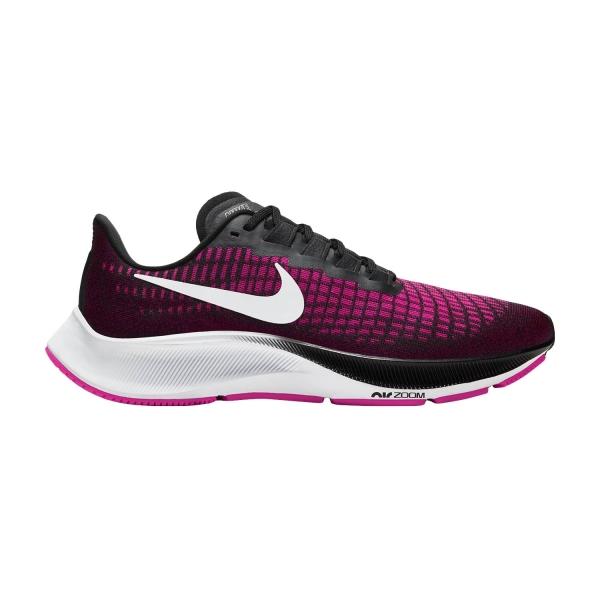 Nike Air Zoom Pegasus 37 - Black/White/Pink Blast