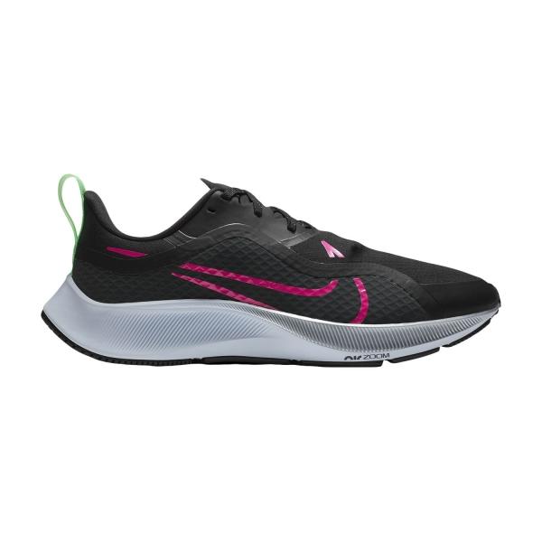 Nike Air Zoom Pegasus 37 Shield - Black/Pink Blast/Iron Grey/Obsidian Mist