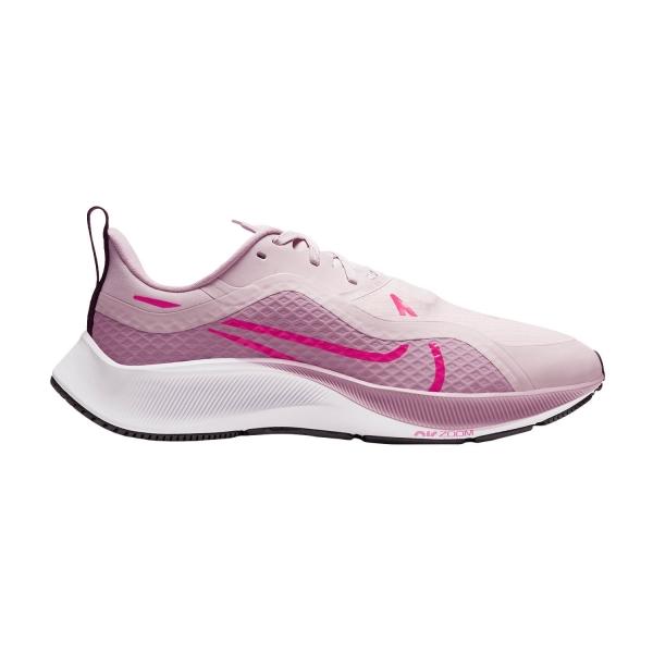 Nike Air Zoom Pegasus 37 Shield - Barely Rose/Laser Crimson/Plum Chalk