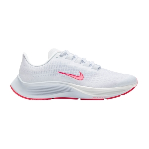 Nike Air Zoom Pegasus 37 VT - White/Sunset Pulse/Bright Crimson