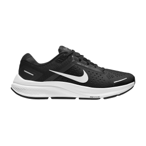 Woman's Structured Running Shoes Nike Air Zoom Structure 23  Black/White/Anthracite CZ6721001