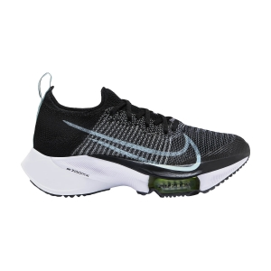 Zapatillas Running Neutras Mujer Nike Air Zoom Tempo Next%  Black/Glacier Ice/White/Barely Volt CI9924001