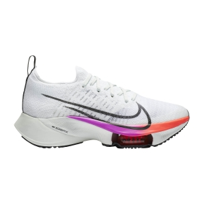 Women's Neutral Running Shoes Nike Air Zoom Tempo Next%  White/Black/Hyper Violet/Flash Crimson CI9924100
