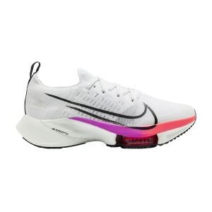 Men's Neutral Running Shoes Nike Air Zoom Tempo Next%  White/Black/Hyper Violet/Flash Crimson CI9923100