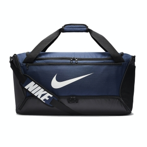 Borsa Nike Brasilia Medium Borsone  Midnight Navy/Black/White BA5955410