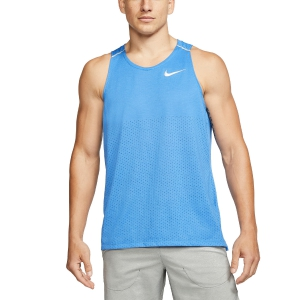 Men's Running Sleeveless Nike Breathe Rise 365 Tank  Pacific Blue/Reflective Silver AQ9917402