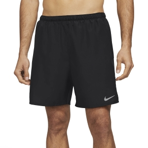Nike Challenger 2 in 1 7in Shorts - Black/Reflective Silver