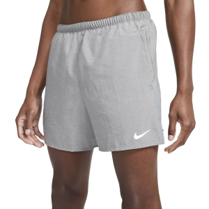 Pantalones cortos Running Hombre Nike Challenger 5in Shorts  Smoke Grey Heather/Reflective Silver CZ9062084
