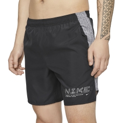 Nike Challenger 7in Shorts - Black/Reflective Silver