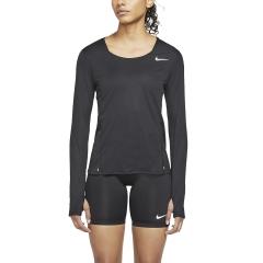 Nike City Sleek Maglia - Black/Reflective Silver