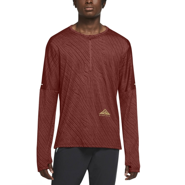 Nike Dri-FIT Element Shirt - Dark Cayenne/Bronze Eclipse