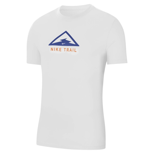 Nike Dri-FIT Trail T-Shirt - White/Astronomy Blue