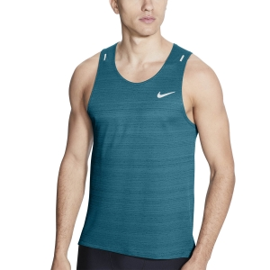 Camisetas sin mangas Running Hombre Nike DriFIT Miler Run Top  Blustery/Reflective Silver CU5982467