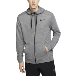 Men's Fitness & Training Shirt and Hoodie Nike Dry Fleece Hoodie  Charcoal Heather/Black CJ4317071