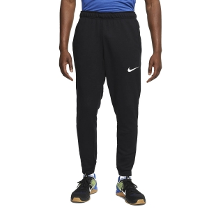 Men's Fitness & Training Tights Nike Dry Fleece Pants  Black/White CJ4312010