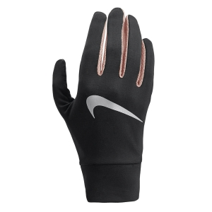 Nike Dry Lightweight Tech Gloves Woman - Black/Pink/Silver
