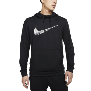 Men's Fitness & Training Shirt and Hoodie Nike Dry Swoosh Hoodie  Black CJ4268010