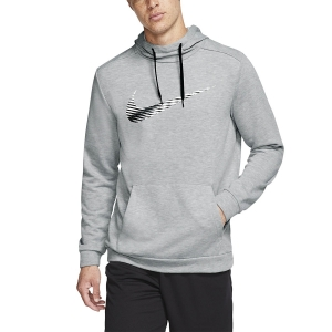 Men's Fitness & Training Shirt and Hoodie Nike Dry Swoosh Hoodie  Dark Grey Heather CJ4268063