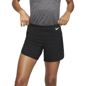 Nike Eclipse 5in Pantaloncini - Black/Reflective Silver