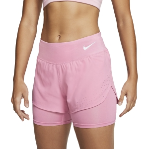 Pantaloncini Running Donna Nike Eclipse 2 in 1 3in Pantaloncini  Magic Flamingo/Reflective Silver AQ5420601