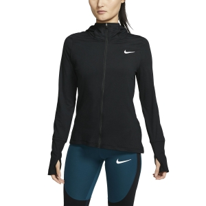 Women's Running Hoodies Nike Element Hoodie  Black/Reflective Silver CQ8864010