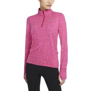Nike Element Camisa - Fireberry/Sunset Pulse/Reflective Silver