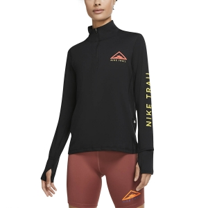 Nike Element Trail Camisa - Black/Reflective Silver