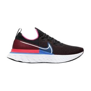 Nike React Infinity Run Flyknit - Black/White/Red Orbit/Photo Blue