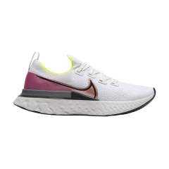 Nike React Infinity Run - Platinum Tint/Black Pink/Blast