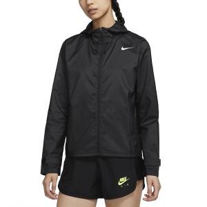 Nike Essential Chaqueta - Black/Reflective Silver