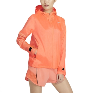 Nike Essential Chaqueta - Bright Mango/Reflective Silver