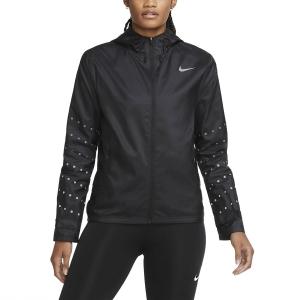 Nike Essential Runway Giacca - Black/Reflective Silver
