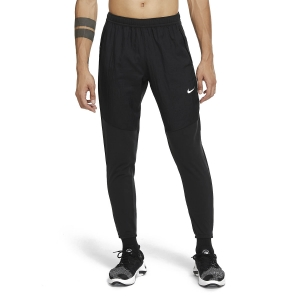Pantalones Running Hombre Nike Essential Therma Pantalones  Black/Reflective Silver CU5518010
