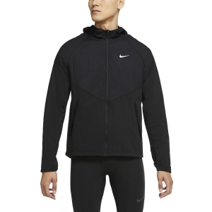 Giacca Running Uomo Nike Essential Thermal Giacca  Black/Reflective Silver CV2238010