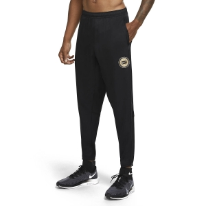 Pantalones Running Hombre Nike Essential Wild Run Pantalones  Black/Particle Grey/Reflective Silver CU5687010