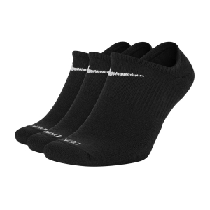 Running Socks Nike Everyday Plus x 3 Socks  Black/White SX7840010