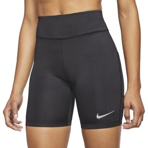 Women's Running Shorts Nike Fast 7in Tights  Black/Reflective Silver CJ2373010