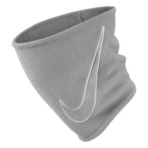Nike Fleece 2.0 Neckwarmer - Smoke Grey/White