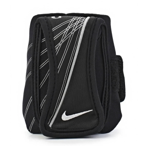 Running Armband Nike Lightweight Carrying Band  Black/White N.RE.03.010.OS