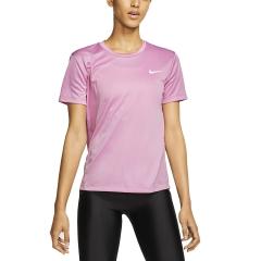 Nike Miler Maglietta - Magic Flamingo/Reflective Silver