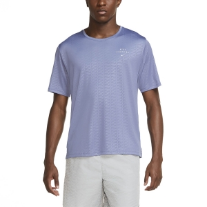 Men's Running T-Shirt Nike Miler Run Division TShirt  World Indigo/Reflective Silver CU7880482