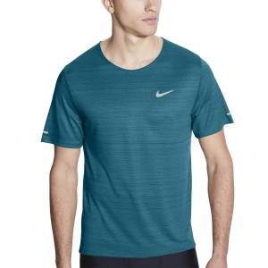 Nike Miler Wild Run Classic Camiseta - Blustery/Reflective Silver