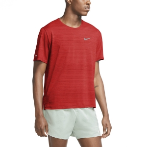 Men's Running T-Shirt Nike Miler Wild Run Classic TShirt  Chile Red/Reflective Silver CU5992673