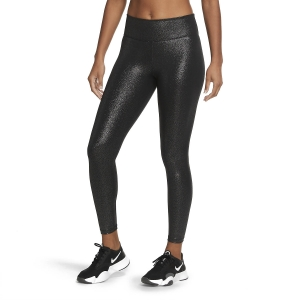 Nike One Sparkle 7/8 Tights - Black
