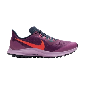 Women's Trail Running Shoes Nike Air Zoom Pegasus 36 Trail  Villian Red/Total Crimson/Blackened Blue AR5676600