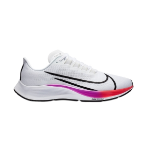 Men's Neutral Running Shoes Nike Air Zoom Pegasus 37  White/Black/Hyper Violet BQ9646103
