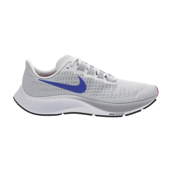 Nike Air Zoom Pegasus 37 - Pure Platinum/Racer Blue/Wolf Grey