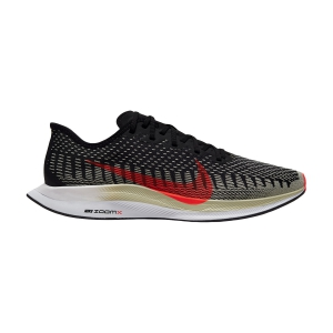Nike Zoom Pegasus Turbo 2 - Black/Laser Crimson/Olive Aura/White
