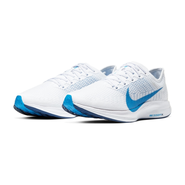 Nike Zoom Pegasus Turbo 2 WhitePhoto BlueBlue VoidFootball Grey