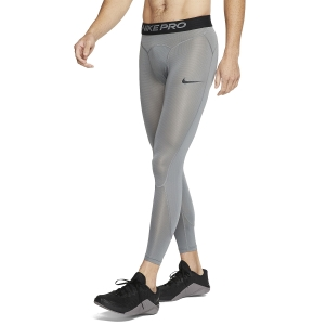 Men's Underwear Tights Nike Pro Breathe Tights  Smoke Grey/Black CJ4789085